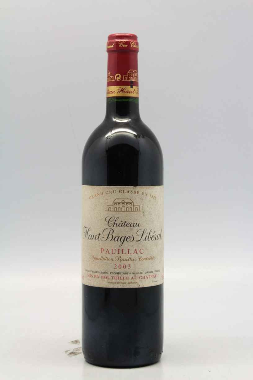 Chateau Haut Bages Liberal 2003