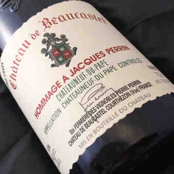 Beaucastel , Chateauneuf Du Pape  Hommage A Jacques Perrin , 2001