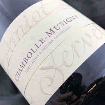Amiot Servelle , Chambolle Musigny , 2015
