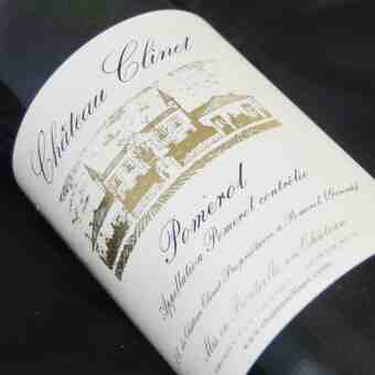 Chateau Clinet , Chateau Clinet , 1990
