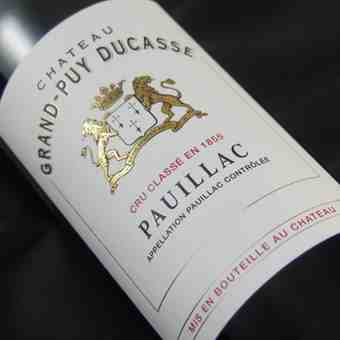 Chateau Grand Puy Ducasse 1998