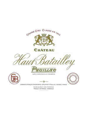 Chateau Haut Batailley 2001