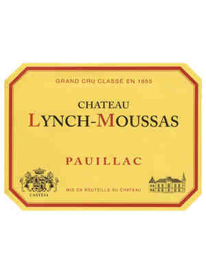 Chateau Lynch Moussas 1986