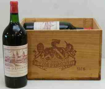 Chateau Cos D'estournel , Chateau Cos D'estournel , 1975