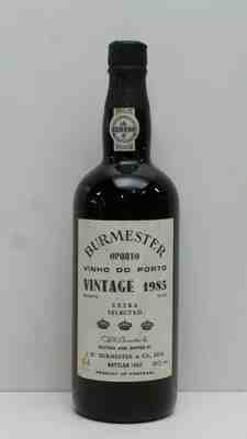 Burmester , Vintage  Extra Selected  Bottled 1987 , 1985