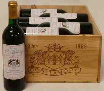Chateau Cos Labory , Chateau Cos Labory , 1989