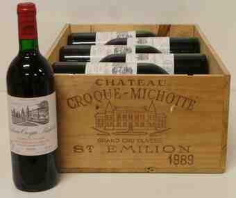 Chateau Croque Michotte , Chateau Croque Michotte , 1989