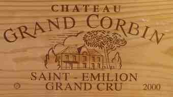 Chateau Grand Corbin 2000