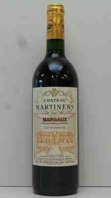 Chateau Martinens 2001