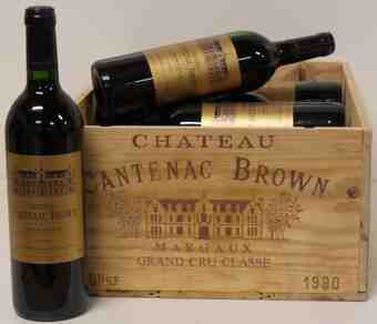 Chateau Cantenac Brown , Chateau Cantenac Brown , 1990