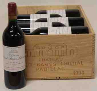 Chateau Haut Bages Liberal 1990