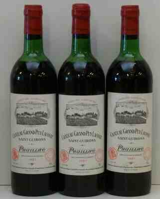 Chateau Grand Puy Lacoste 1981