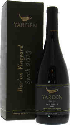 Golan Heights Winery   Yarden Syrah Bar'on Vineyards  2013