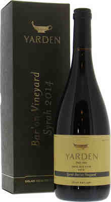Golan Heights Winery   Yarden Syrah Bar'on Vineyards  2014