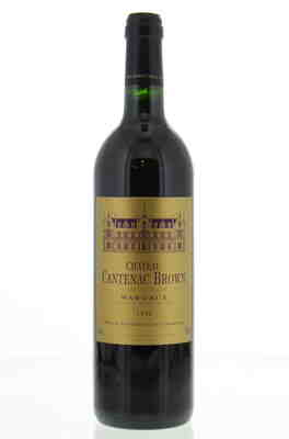 Chateau Cantenac Brown , Chateau Cantenac Brown , 1996