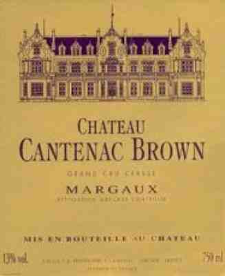 Chateau Cantenac Brown , Chateau Cantenac Brown , 2009