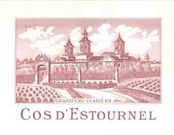 Chateau Cos D'estournel , Chateau Cos D'estournel , 1970