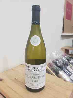 Domaine William Fevre chablis 1e cru vaulorent 2008