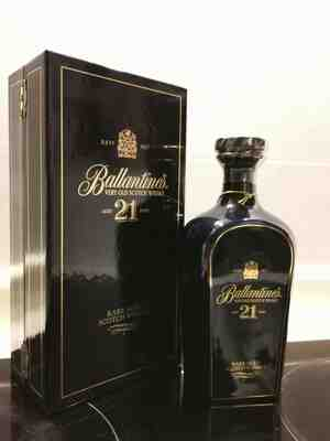 Ballantine's , 21 years blended whisky ceramic , N.V.